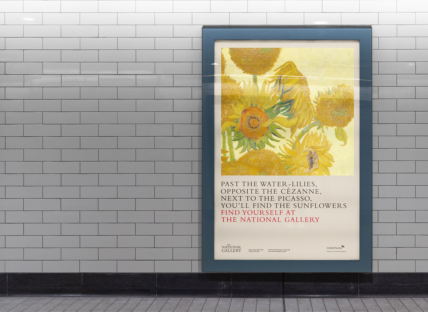 National Gallery advertising