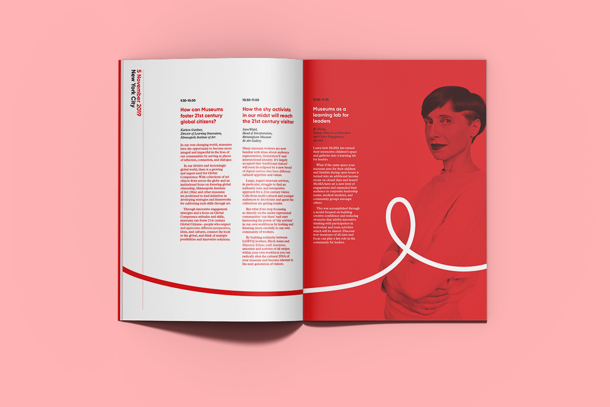 Design of conference programme