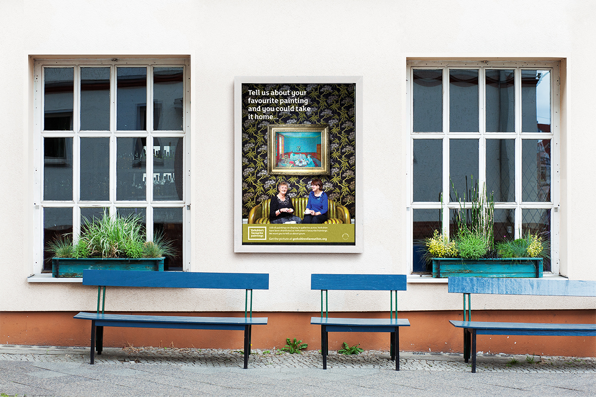 Arts marketing posters