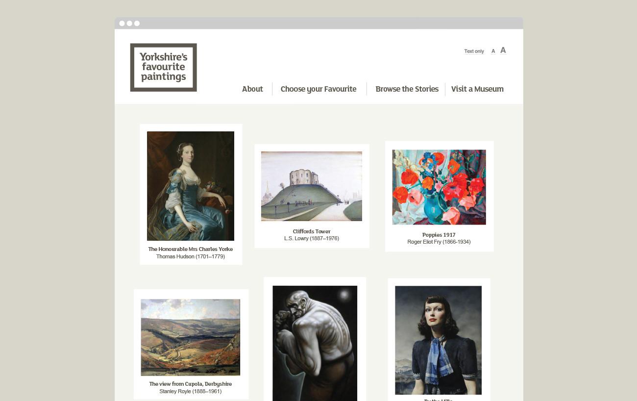 Arts marketing website