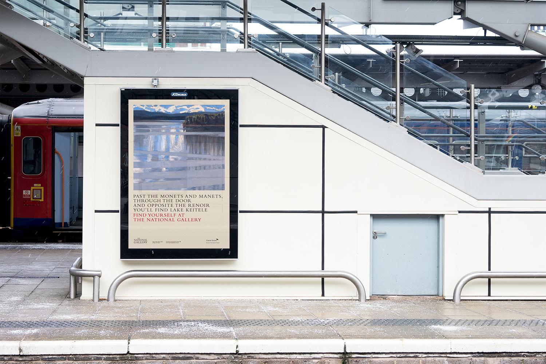 National Gallery advertising London