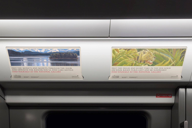 National Gallery advertising tube