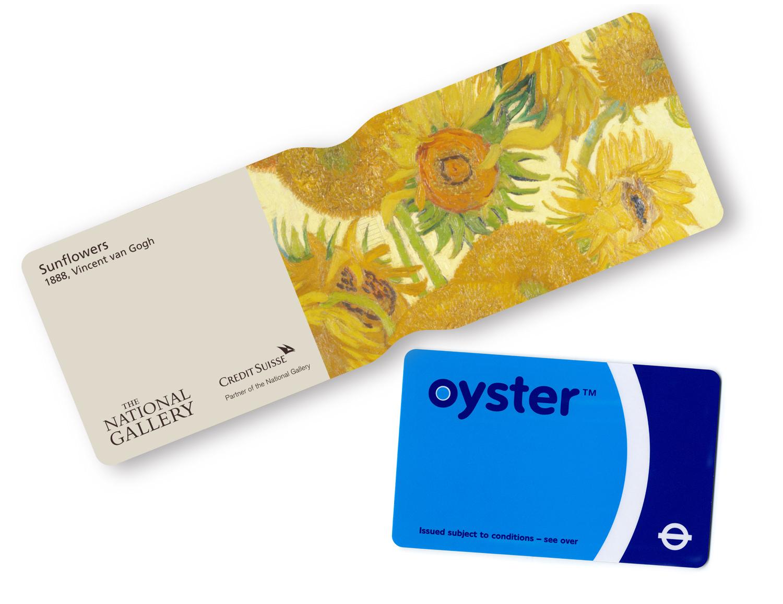 Gallery marketing oyster card