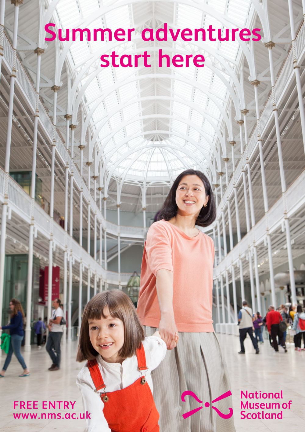 National Museum of Scotland summer marketing campaign