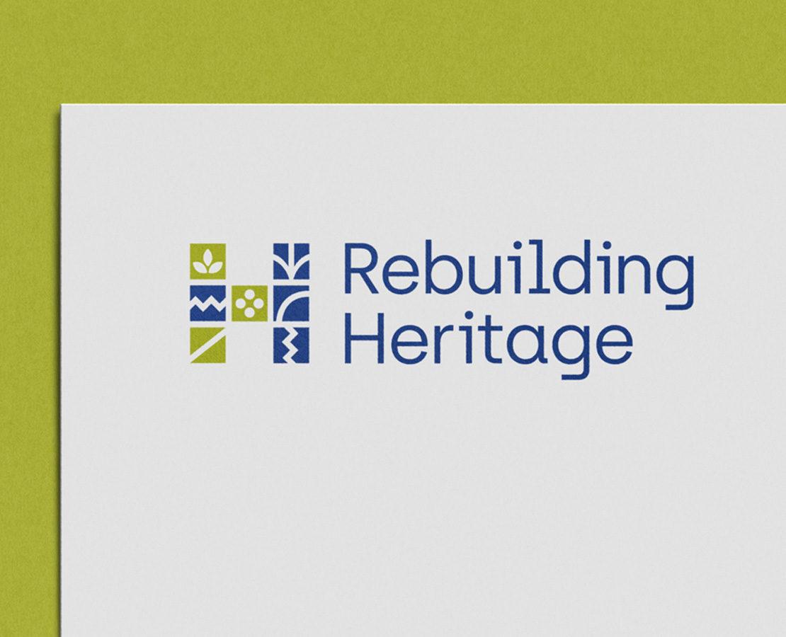 Rebuilding Heritage logo design